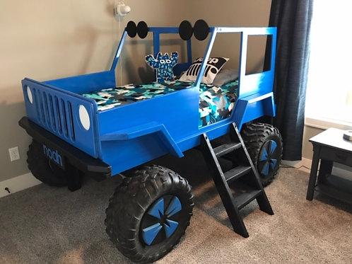 Raised Jeep Bed