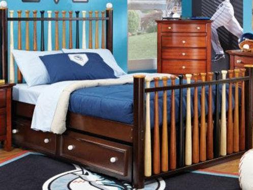 Baseball Bat Bed
