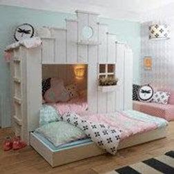 White Bird House Bed