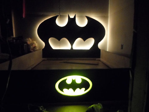Lighted Super Hero Bed