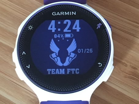 How to add Team FTC logo to your Garmin Watch