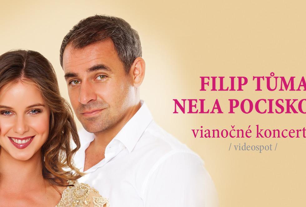 Vianočné koncerty Filip TŮma a Nela Pocisková