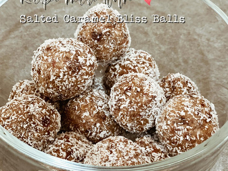 Salted Caramel Bliss Balls with a Twist