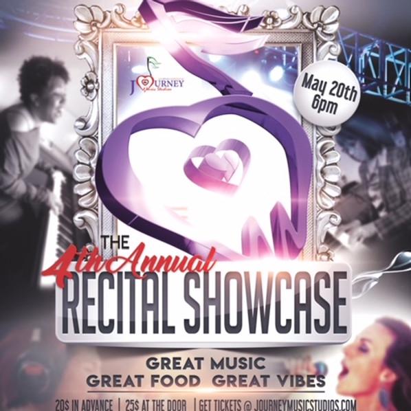 Journey Music Studios - 4th Annual Recital Showcase