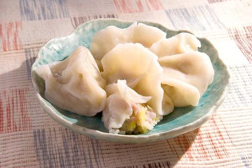 韭黃黑豬肉水餃