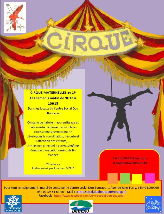 cirque pour tout petit