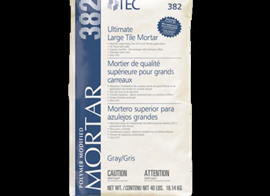 Mortier polymère TEC Ultimate gris 40lbs