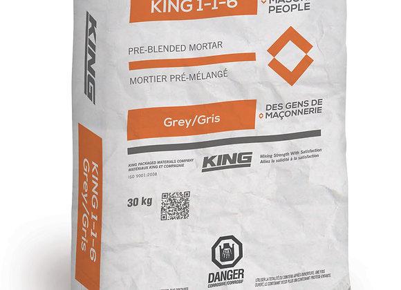 MORTIER KING 1-1-6 GRIS
