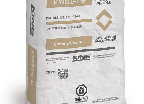 MORTIER KING 1-1-6 CREME