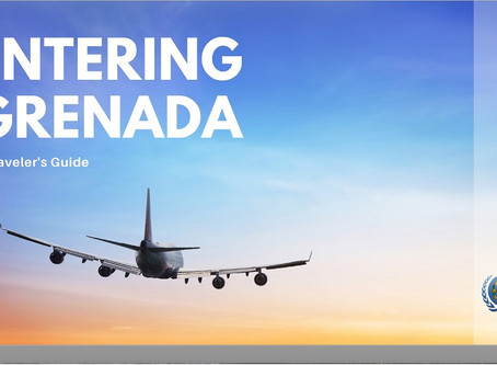 Covid19 Protocols for entering Grenada's Maurice Bishop International Airport.