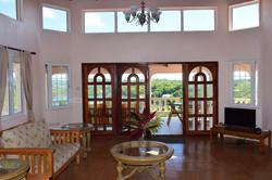 Living room looking to veranda