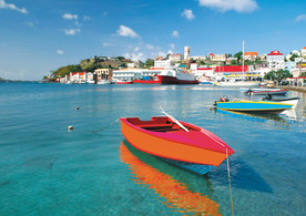 Boat on the Carenage Grenada