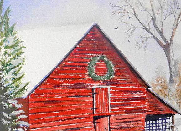 Berea Barn - Prints on Plak Panels (No Framing Necessary)