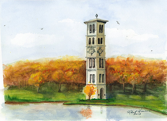 Furman Tower - Giclee' Fine Art Prints