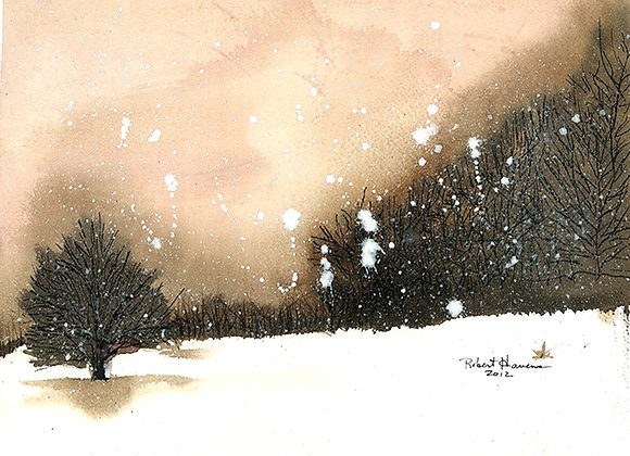 Silent Snow - Giclee' Fine Art Prints
