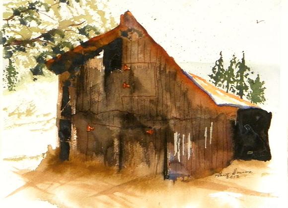 Miners Shack - Digital Fine Art Prints
