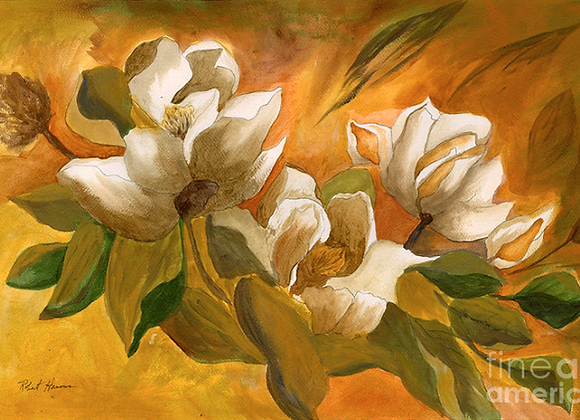 Backyard Magnolia - Giclee' Fine Art Prints