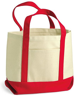 DGHX-002 Customised Large Cotton Canvas Tote Bag