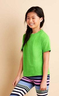 JES-76000B -  Gildan Cotton Premium RN Tshirt (Kids)