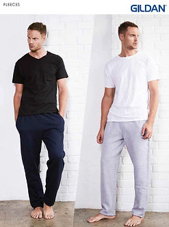 JES-88400 Gildan (Unisex) Heavy blend Open Bottom Sweatpants