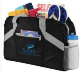 DON-SM-7278 Packaway Fold Up Travel Duffel Bag