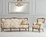 salons classiques tissus ou cuir teintés ou laqués