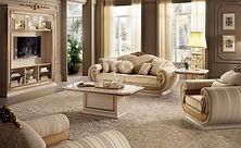 salons canapés fauteuils classique luxury haut de gamme