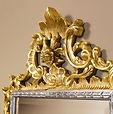 miroirs classique feuille or sur mesure