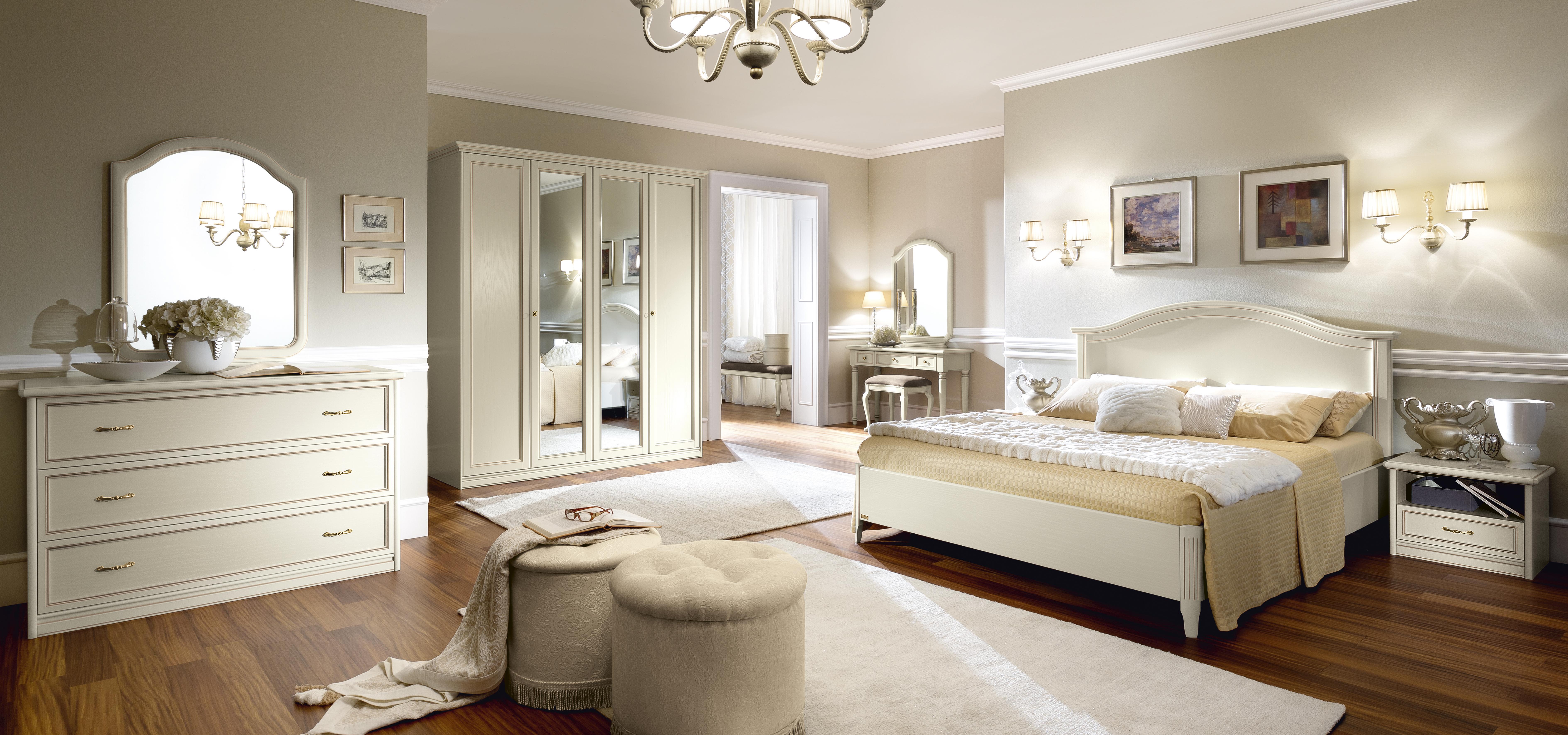chambre classique ivoire