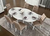 table salle à manger ronde avec allonges