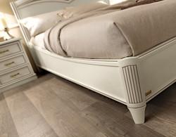 cadre de lit ivoire
