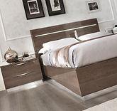 lit moderne 2 personnes 140-160-180 cm