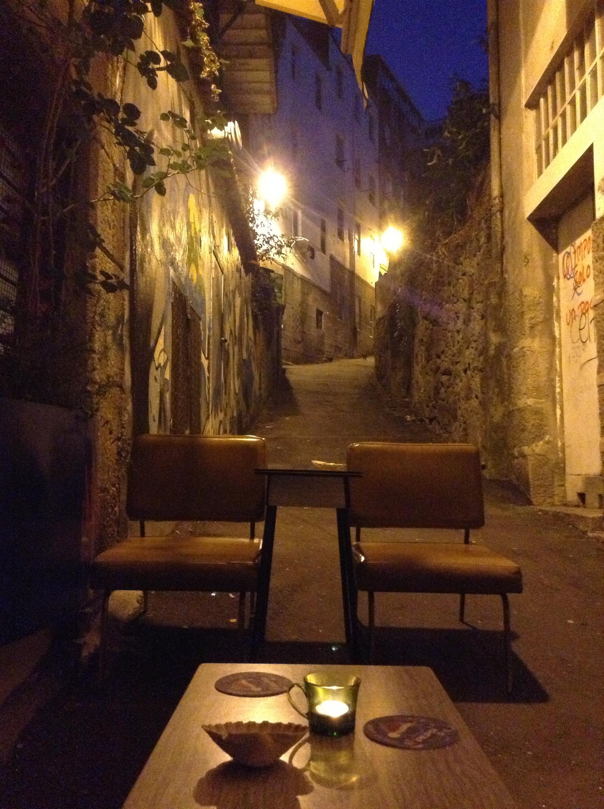 Maispala bar vigo terraza vintage