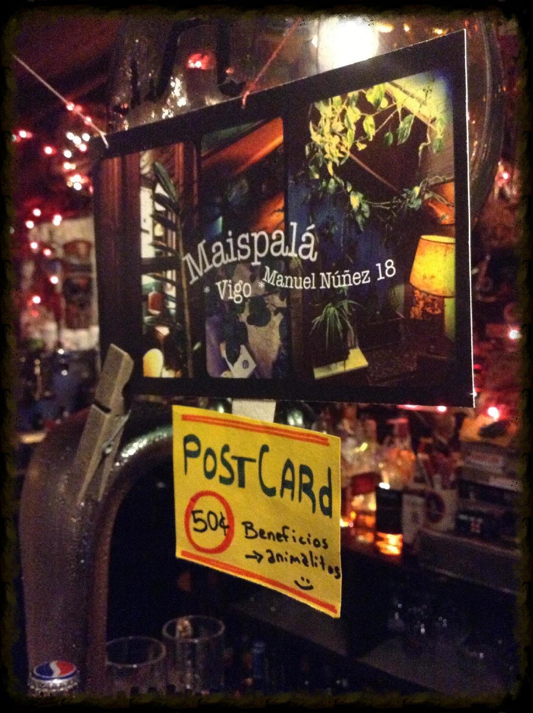 Maispala cafe bar vigo postcard souvenir 2014-2-13-17:18:35