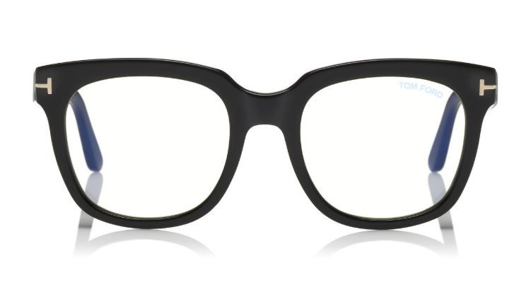 BLUE BLOCK LARGE OPTICALS from TOM FORD
