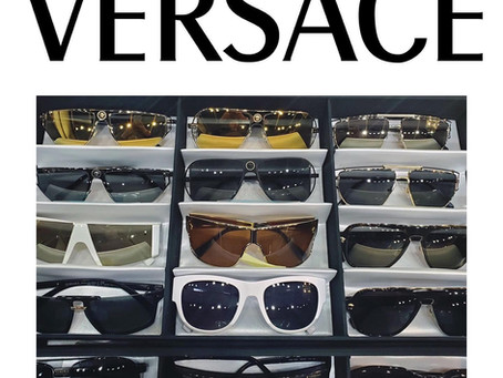 Live like a Legend with Versace Eyewear