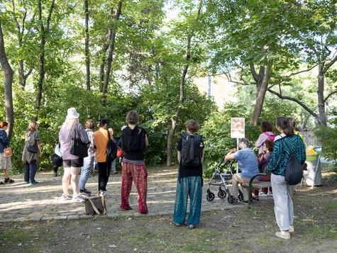 Wandertag mit Julischka Stengele. Foto: Hannah Mayr