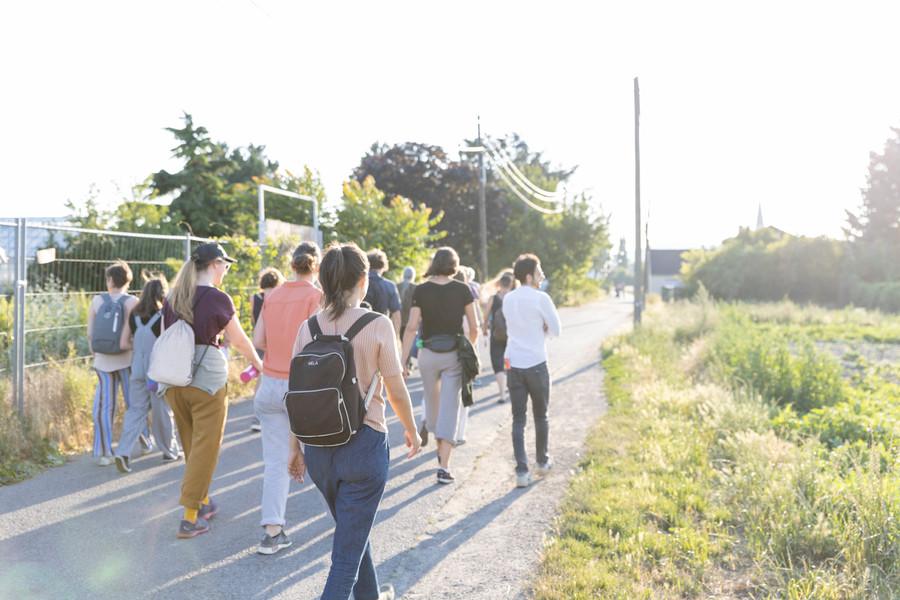 Wandertag mit Anna Witt. Führung mit Petra Unger.Foto: Hannah Mayr
