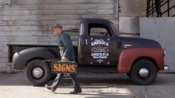 Jack Daniel's Ad campaign: truck