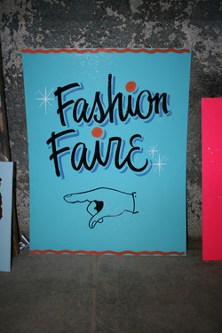 Fashion Faire show card