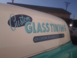 Custom Glass Tinting wagon