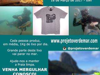 Dia de Limpeza - Dive Against Debris