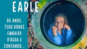 Sylvia Earle completa 86 anos e mais de 7500 horas embaixo d'água