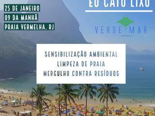 Participe da primeira ação de 2020 do Projeto Verde Mar