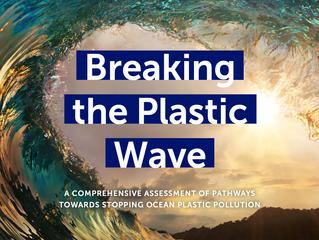 Estudo aponta cenários para tentarmos acabar com a poluição plástica