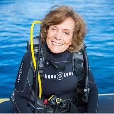 Sylvia Earle no Brasil