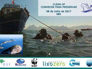 Ação ambiental nas Ilhas Cagarras