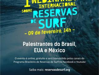 Webinário Internacional apresenta propostas para proteção dos picos de surf no Brasil