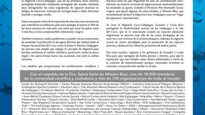 Deu no New York Times: É preciso proteger o corredor entre Galápagos e Ilhas Cocos