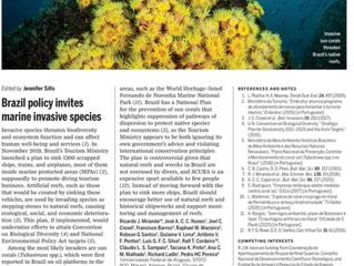 Revista Science repercute crítica à política brasileira de recifes artificiais